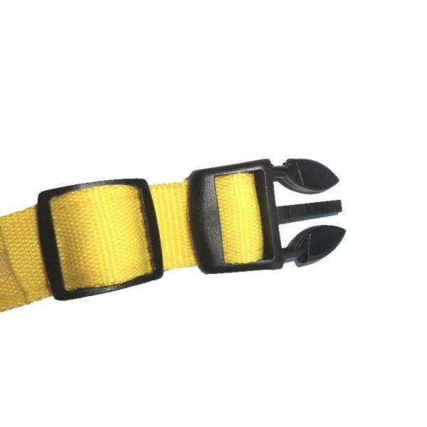 Leuchthalsband Hund Gelb
