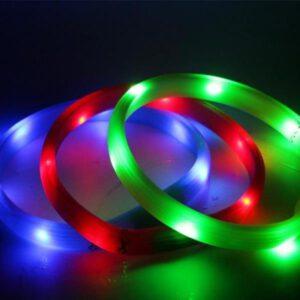 Leuchtring für Hunde